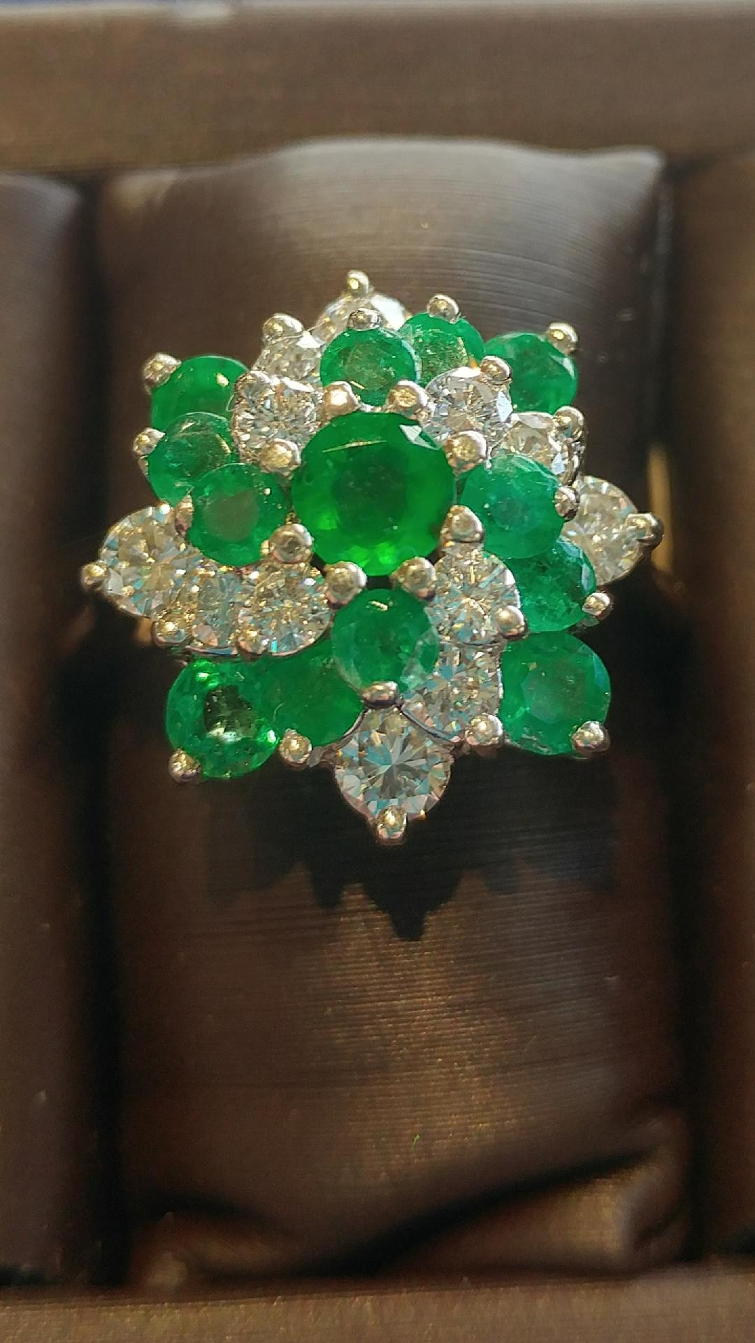 navigate vintage and ct ring t c rings jewelry emerald w jsp carat estate gemstones