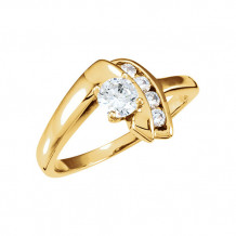 Stuller 14k Yellow Gold Engagement Ring