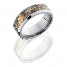 Lashbrook Titanium with Realtree Camo Inlay Wedding Band