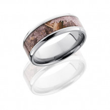 Lashbrook Titanium with Kings Desert Camo Inlay Wedding Band