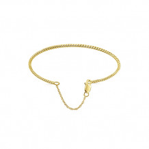 Gabriel & Co. 14k Yellow Gold Twisted Fashion Bangle
