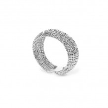 Officina Bernardi Sterling Silver Moon Cuff Bracelet - BOMBEB9F25W
