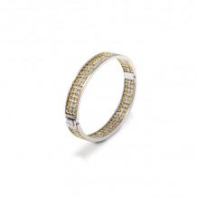 Officina Bernardi Sterling Silver Antares Bangle Bracelet - ANTARESB3F25GW
