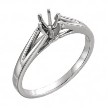 Stuller 14k White Gold Engagement Ring