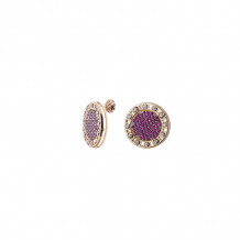 Officina Bernardi 18k Yellow Gold Senza Tempo Gemstone Stud Earrings - 18GSTLRE25GW
