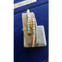 SULLIVAN'S ESTATE JEWELRY Graduated Opal Bracelet