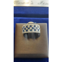 SULLIVAN'S ESTATE JEWELRY Sapphire and Diamond Ring