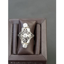 Sullivan's Estate Jewelry Three Mine Cut Diamond Set